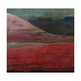 Red Hill Giclee Print by Lucy Raverat