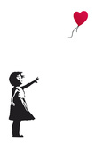 Balloon Girl Banksy Posters