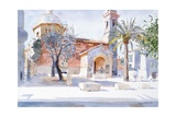 Provencal Church, 1993 Giclee Print by Lucy Willis
