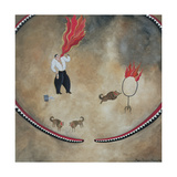 Fire Eater, 1980 Giclee Print by Mary Stuart