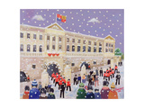 Snow at Buckingham Palace Giclee Print by William Cooper
