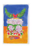 Christmas Morning Giclee Print by Diane Matthes