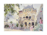 House on the Hill, Bombay, 1991 Giclee Print by Lucy Willis