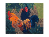 Cross Cochin Family Giclee Print by Carol Walklin