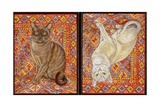 Burmese Carpet-Patch, 1997 Giclee Print by  Ditz