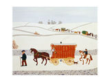 Gypsy Caravan Giclee Print by Vincent Haddelsey