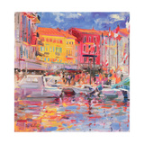 Le Port De St Tropez, 2002 Giclee Print by Peter Graham
