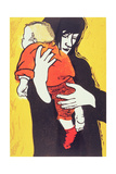 Red Sock, 1991 Giclee Print by Carol Walklin
