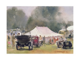 Vintage Motor Rally, 1991 Giclee Print by Trevor Chamberlain