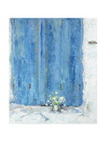 Blue Shutter, 1990 Giclee Print by Diana Schofield