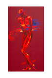 Jesus Is Stripped - Station 10 Giclee Print by Penny Warden