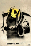 Smiling Reaper Banksy Posters