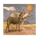 Donkeys, 1989 Giclee Print by Antonio Ciccone