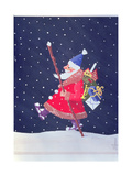 Father Christmas Giclee Print by Herbert Hoffmann