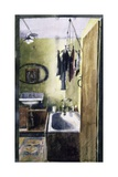 Old Bathroom Giclee Print by John Lidzey