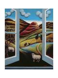 Highland View Gicléedruk van Jerzy Marek