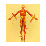 The Resurrection - Station 15 Giclee Print by Penny Warden