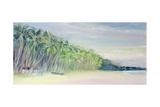 Coco Beach, Goa, India, 1997 Giclee Print by Sophia Elliot