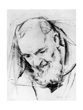 Study for a Padre Pio Monument, 1979-80 Giclee Print by Antonio Ciccone