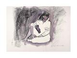 Seated Figure, 1999 Giclee Print by John Cooke