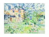 Apple Blossom Farm Giclee Print by Elizabeth Jane Lloyd