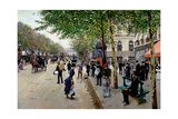 Jean Béraud - Parisian Street Scene Digitálně vytištěná reprodukce