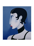 Women in Profile Series, No. 20, 1998 Giclee Print by John Wright
