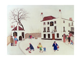 The Spaniard's Inn, Hampstead Heath Giclee Print by Gillian Lawson