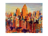 Upper Manhattan, 2000 Giclee Print by Peter Graham