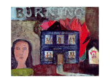 Lot's Wife Looks Back (Burning), 1991 Giclee Print by Albert Herbert