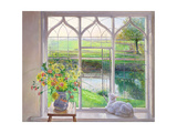 Dawn Breeze Giclee Print by Timothy Easton