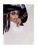 Captain Hook, from 'Peter Pan' by J.M. Barrie Giclee Print by Anne Grahame Johnstone