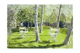 Silver Birches, 1988 Giclee Print by Lucy Willis