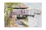 The Jetty, Cochin, 1991 Giclee Print by Lucy Willis