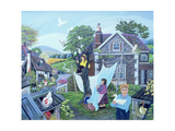 A Place in the Country, 1988 Giclee Print by Jean Stockdale