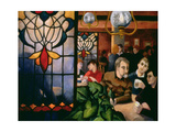A Good Night Out, 1996 Giclee Print by Cristiana Angelini