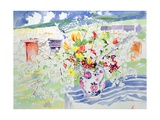 Spring Flowers on the Island Giclee Print by Elizabeth Jane Lloyd