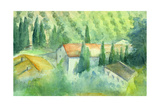 Marcelliana, Tuscany Giclee Print by Karen Armitage