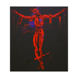Jesus Dies on the Cross - Station 12 Giclee Print by Penny Warden