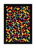 3x36 Permutations, 1986 Giclée-Druck von Peter Hugo McClure