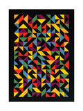 3x36 Permutations, 1986 Giclee Print by Peter McClure