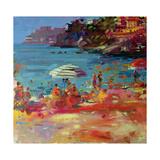Monaco Coast, 2000 Impression giclée par Peter Graham