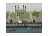 Tower of London Giclee Print by Vincent Haddelsey