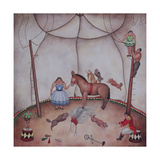 The Little Circus, 1980 Giclee Print by Mary Stuart