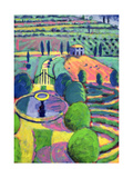 Italian Garden Giclee Print by Sara Hayward