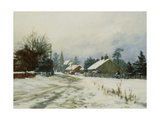 Higham, Winter '86 Giclee Print by Vic Trevett