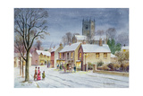 Twilight in the Village Giclee Print by Stanley Cooke