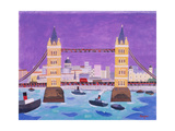 Tower Bridge Giclee Print by William Cooper