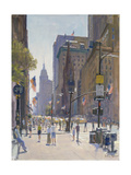 Fifth Avenue, 1997 Giclee Print by Julian Barrow