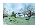 Leighton Hall, Lancashire, 1963 Giclee Print by Tristram Paul Hillier